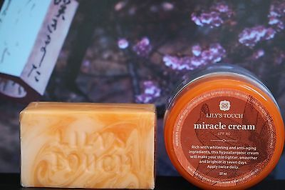 Lily's Touch  Miracle Cream, 50ml mit SPF40 + Lily's Touch Miracle Soap