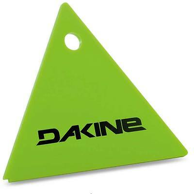 Dakine Triangle Snowboard Wax Scraper – Green