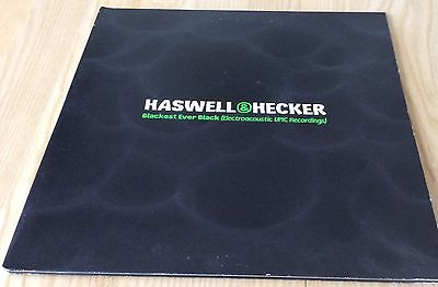 HASWELL & HECKER : Blackest Ever Black ( electroacoustic upic recordings ) 2x LP
