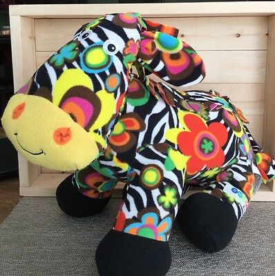"Melissa & Doug Beeposh Zelda Zebra 17"" Plush Stuffed Animal Toy"