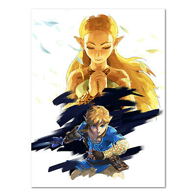 The Legend of Zelda: Breath of the Wild - Key Art - High Quality Prints