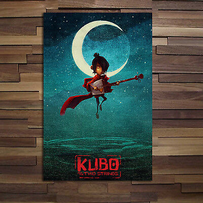 Kubo and the two strings official poster - High Quality Prints