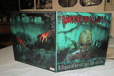 NECROPHAGIA a legacy of horror ... 2 LP first press  death sepultura mayhem absu