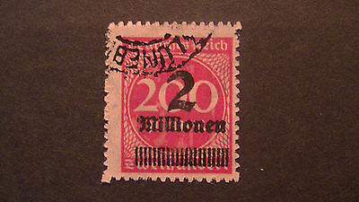 Germany: Early German Reich Stamp.used. # 277. $$$$$$$$$$$$$$$$