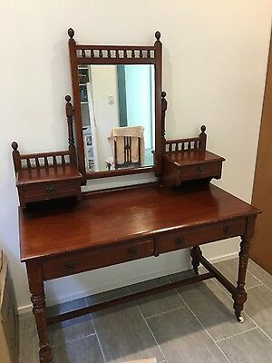 Antique Cedar Dressing Table