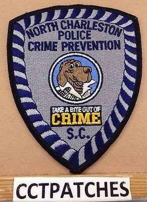 North Charleston, South Carolina Police Crime Prevention Bite Out Crime Patch Sc