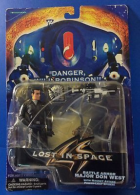 Lost in Space Major Don West Magnet Attack Power Leap Spider Action Figure Toy
