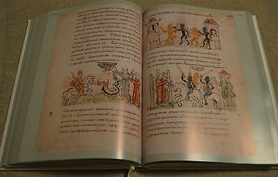 Russian Radziwill Chronicle 15th century richly illuminated fullcolor facsimile
