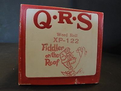 QRS Fiddler On The Roof Piano Roll XP-122