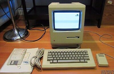 Vintage Original Early Macintosh 128k - Never Upgraded - Working, Tested