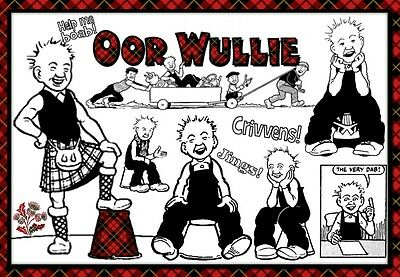 Oor Wullie Scotland's Wee Boy -  Mouse Mat