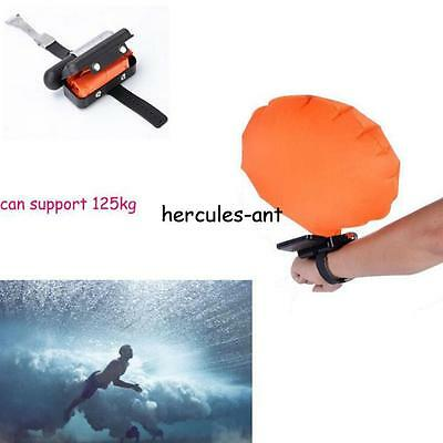 Survival Wrist Self Rescue Air bag Bracelet Inflatable Float swimming Emergency!