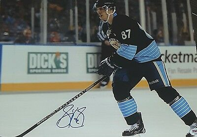 Sidney Crosby Pittsburgh Penguins Signed 8x10 Reprint Photo RP PP