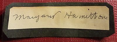 Vintage Autograph-Famous Actress-Margaret Hamilton-Wicked Witch-Wizard Of Oz