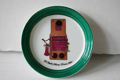 Vintage Bells Phone Themed Ash Tray Coin/Tip Dish