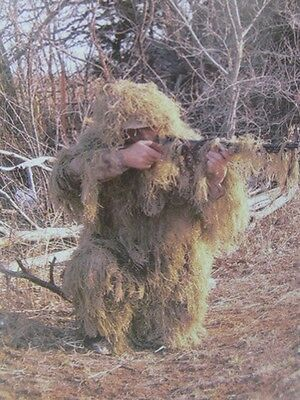2 Piece Ghillie Suit Fall Camouflauge Extra Large