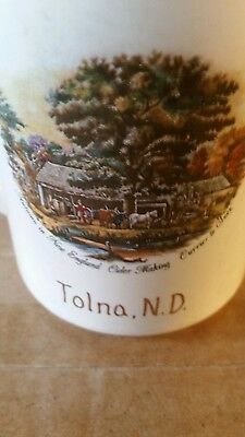 Tolna North Dakota Advertising coffee cup