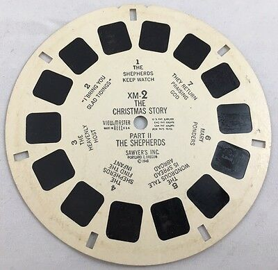 Vintage Viewmaster Reel Christian The Chrstmas Story Part 2 The Shepherds 1948