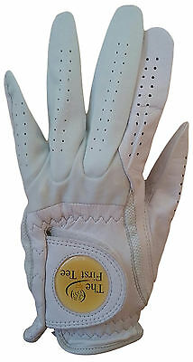 NEW The First Tee Performance Left Hand Golf Glove Ladies Size S - White W580