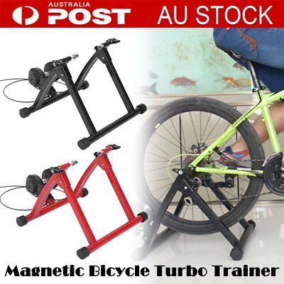 NEW Indoor Bicycle Trainer - Bike Cycling Stationary Magnetic Stand Training OK