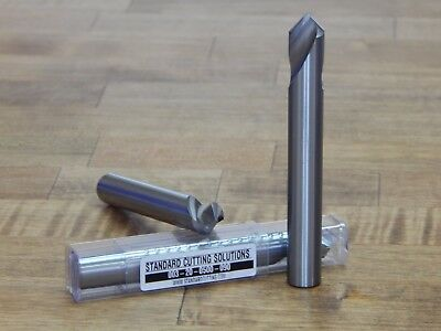 1/2 (.500) 90 Deg. Carbide Spot Drill - SCS -**BRAND NEW** 003-20-0500-090