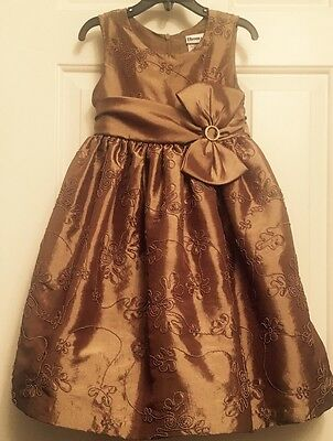 Girls Size 5 Dress Wedding Bridesmaid Flower  Girl Party Church Formal Pageant.
