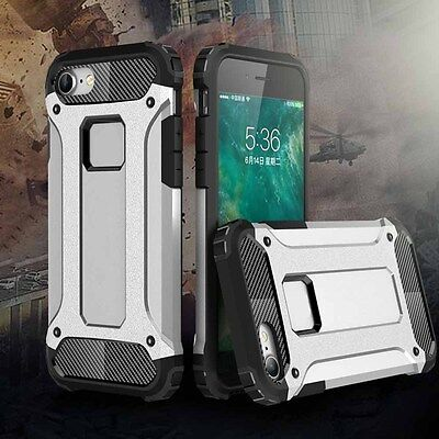 Heavy Duty Shockproof Hybrid Armor Tough Hard Case Cover For iPhone X 8 6 7 Plus