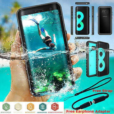 Samsung Galaxy Note 9 8 S8+ Waterproof Case 6ft Diving Shockproof 360 Full Cover