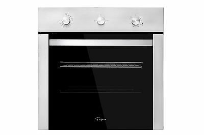 """24"""" Stainless Steel/Black Built-in Gas Single Wall Ovens W/ Rotisserie Function"""