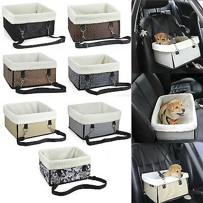 Pet Carrier Car Safety Seat Waterproof  Foldable Travel Bag for Dog Cat UK Stock