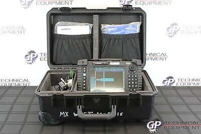 Olympus OmniScan MX 4/32 Eddy Current Phased Array Flaw Detector Panametrics NDT