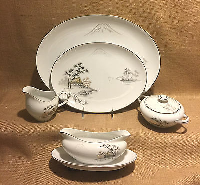 Mt. Fuji Sone China hard-to-find Serving Pieces Excellent Vintage Condition