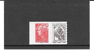 FRANCE 2010.150e ANNI.TIMBRE FISCAL MOBILE.PAIRE AUTOADHESIF NEUF.Y&T P 507+175