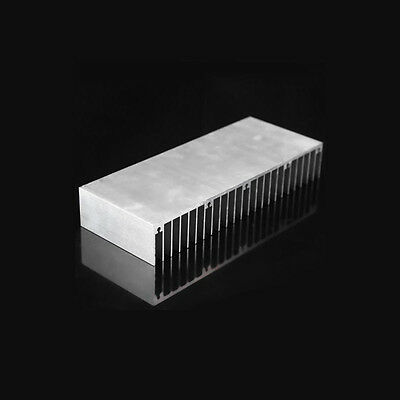 60*150*25mm DIY Cooler Aluminum Heatsink Heat Sink Chip for LED Power Transistor