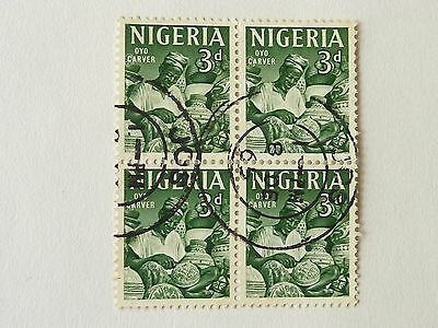 363]  Nigeria  Stamps  -  1961 Sg 93 - Block Of Four - F / Used