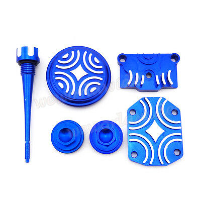 Blue Engine Dress Up Kit Soupape Cap For 110c 125cc CRF50 Lifan YX Dirt Pit Bike