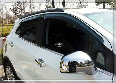 For Vauxhall Opel Mokka 2013-2017 Chrome Rear view Mirror decoration Cover Trim