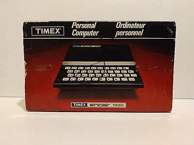 Timex Sinclair 1000 Like New in Box Vintage Computer Mint 1982