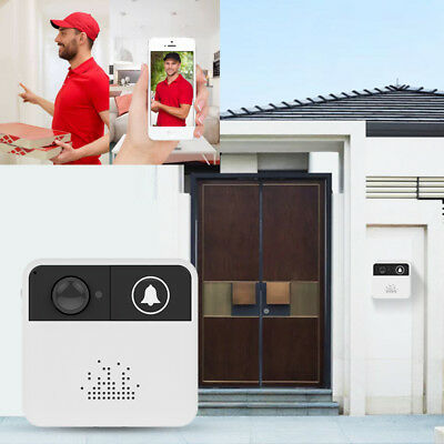 Smart Wireless Ring DoorBell WiFi Visual Camera Phone Door Home Monitor Security