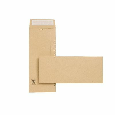 New Guardian Envelope 305x127mm 130gsm Manilla Peel and Seal Easy  [JDC27603]