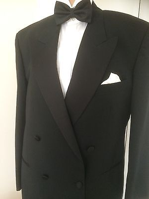 TUXEDO/DINNER JACKET by SKOPES BLACK SIZE 40 FORMAL WEDD1NGS CRUISES ETC