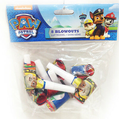 Paw Patrol Lingue Trombette Party 8pz