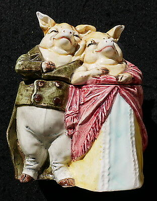 Boite Barbotine Grotesque Cochons Onnaing ? Orchies ?