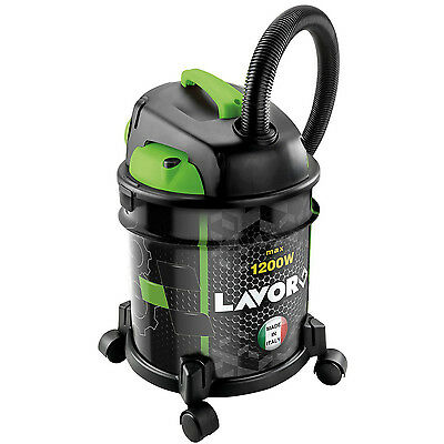 Lavor Rudy Canister Industrial Wet And Dry Vacuum Cleaner With Blower 1200W New