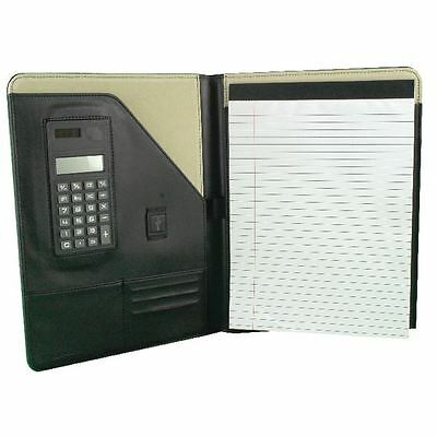 Monolith Black Executive Conference Folder With A4 Pad 2925 [HM29250]