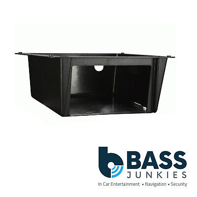 VANS MINI BUS  Double DIN Car Stereo Under Tray Pocket Fascia Mounting Plate