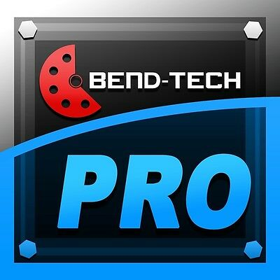 Bend Tech Pro 7X Tube & Pipe Bending Software - Tube Bender
