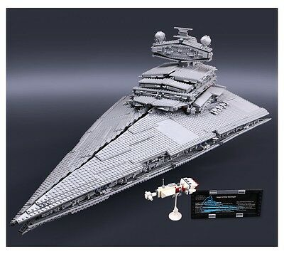 New Ultimate Imperial Star Destroyer Star Wars Compatible With Lego 10030 Sealed