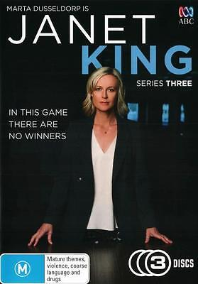 Janet King: Series 3  - DVD - NEW Region 4
