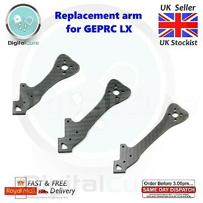 Replacement Spare Arms for GEPRC GEP LX Leopard LX4 LX5 LX6 195/220/255mm Frame